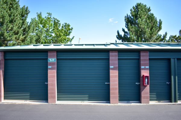 Exterior storage units in a variety of sizes at STOR-N-LOCK Self Storage in Thornton, Colorado