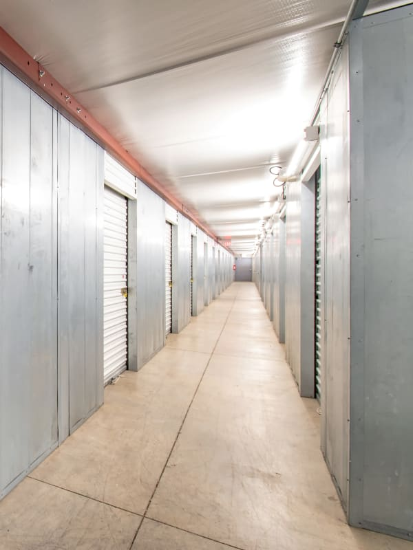 Interior storage units at Storage Inns of America in Centerville, OH
