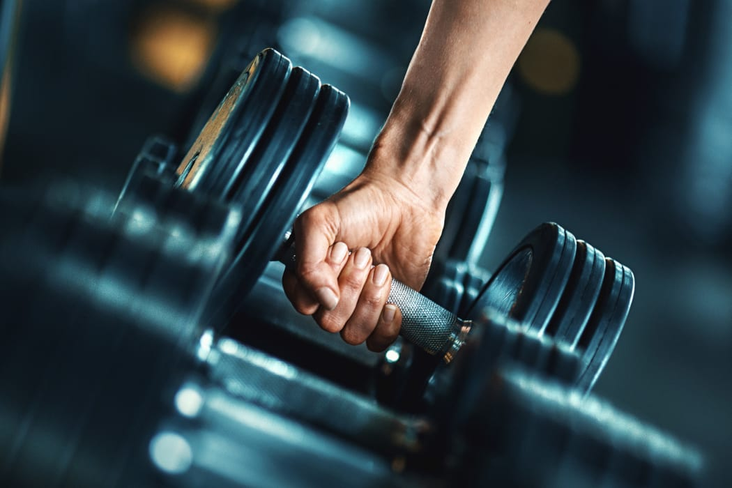 Enjoy a well-equipped fitness center at City Center Apartments in Las Vegas, Nevada