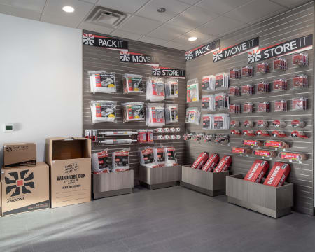 Packing supplies available at StorQuest Self Storage in Redmond, Washington