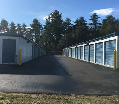 Self storage units for rent at Safe Storage in East Baldwin, Maine