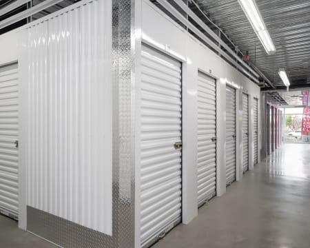 Indoor storage at StorQuest Self Storage in Redmond, Washington