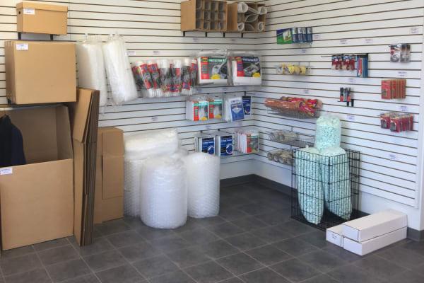 Storage boxes for sale at Self Storage Plus in La Plata, MD