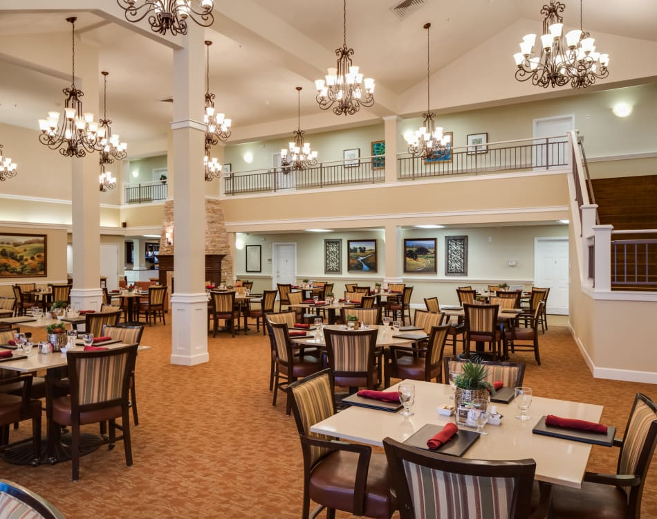Dining Hall at Dale Commons in Modesto, California