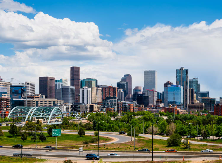 Beautiful Denver, Colorado near Alta SoBo Station