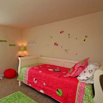 Beautiful bedroom at Whispering Woods in Middle River, MD