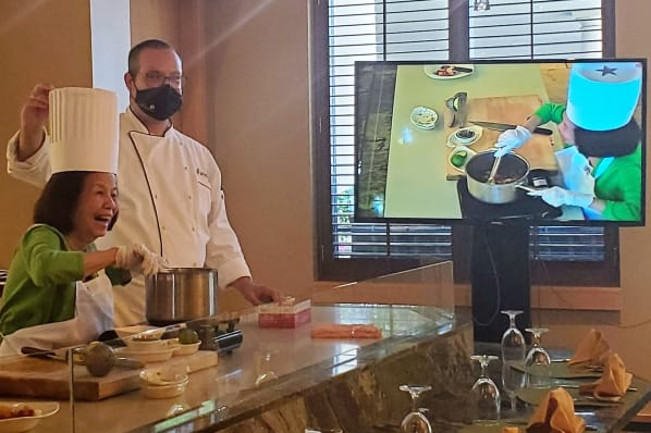 Hands-on Culinary Creation with Executive Chef Matthew
