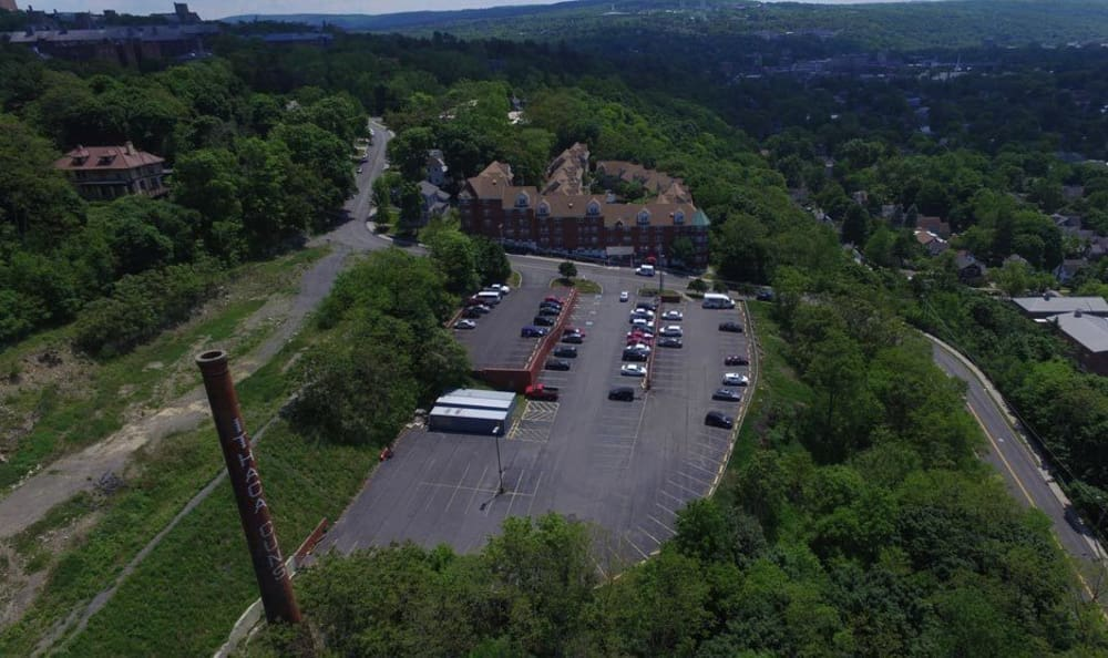 Surrounding area at Gun Hill in Ithaca, NY