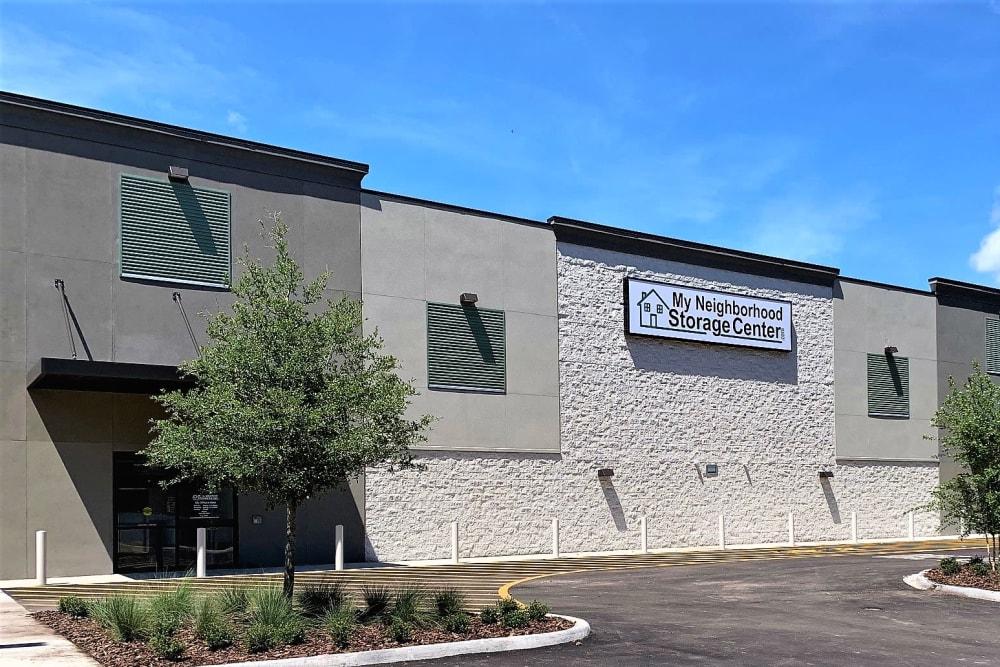 Exterior of My Neighborhood Storage Center in Jacksonville, Florida