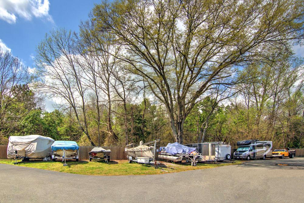 Boat and RV parking at Prime Storage in Ashland, VA