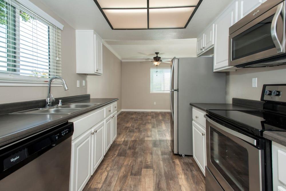 kitchen at Ridgecrest Apartment Homes