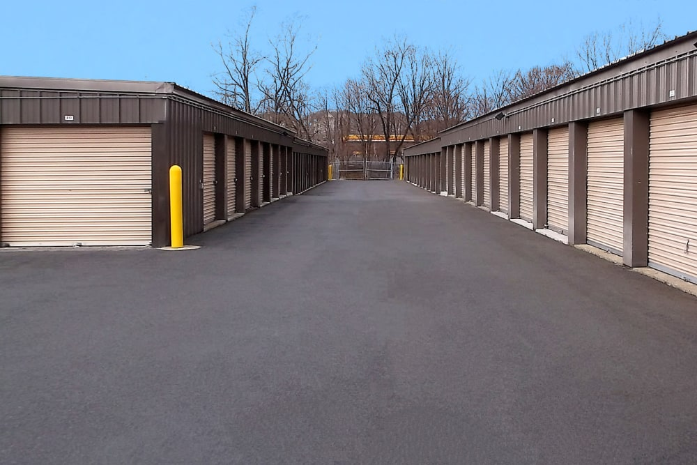 Outdoor units at Prime Storage in Middletown, NY
