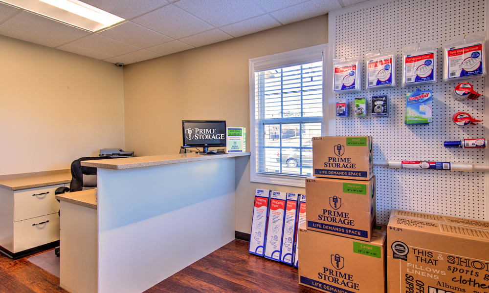 Get your packing and moving supplies at Prime Storage in Marietta, Georgia