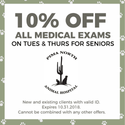 10% off Tuesday and Thursday for Seniors