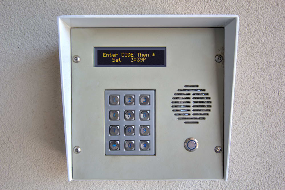 Security key pad at Prime Storage in Virginia Beach, VA