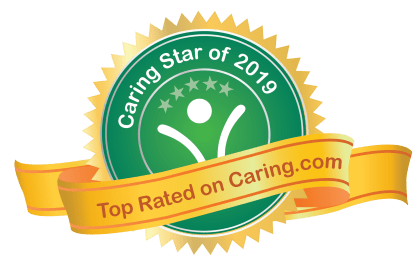 Caring stars award for Heritage Green in Lynchburg, Virginia