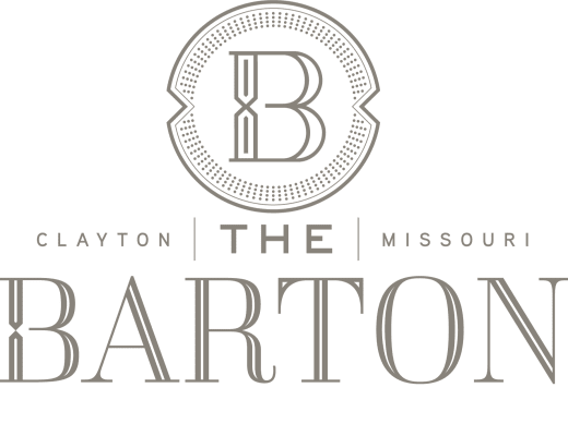 Logo for The Barton in Clayton, Missouri