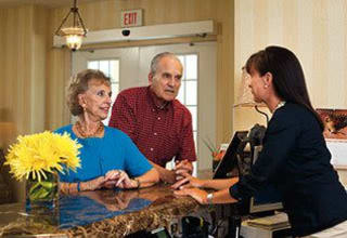 The concierge service for our Slidell senior living residents anticipates every need