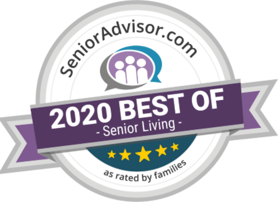 Senior Advisor Award 2020 for Heritage Hill Senior Community