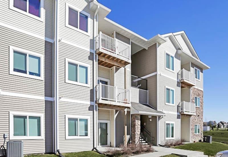 Beautiful apartments at Johnston Heights in Johnston, Iowa
