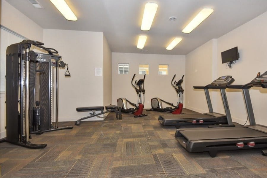 Fitness center at Rock Creek Commons in Vancouver, WA