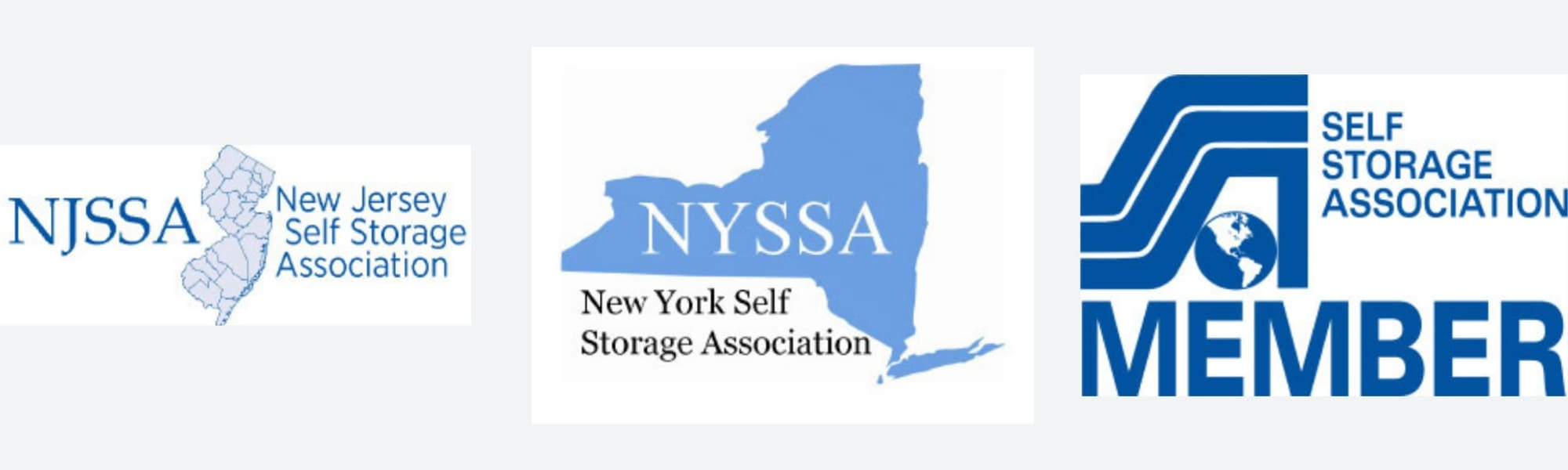 American Self Storage in Tinton, New Jersey, is a proud member of many storage associations