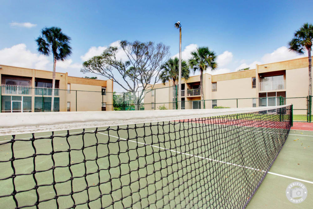 Tennis Court at Lime Tree Village