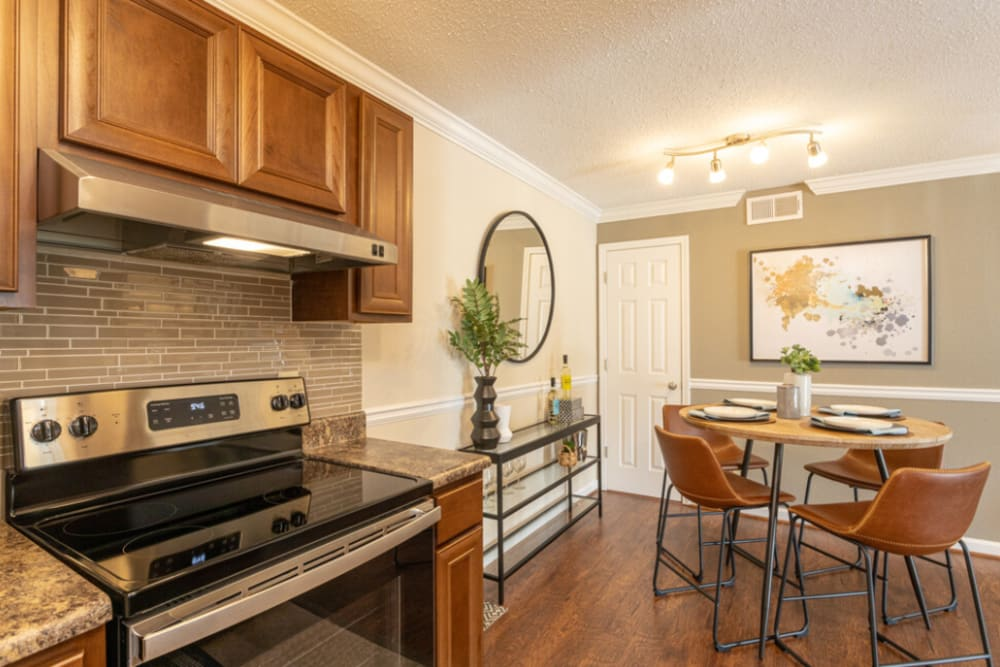 Our apartments in Hoover, AL showcase a beautiful kitchen