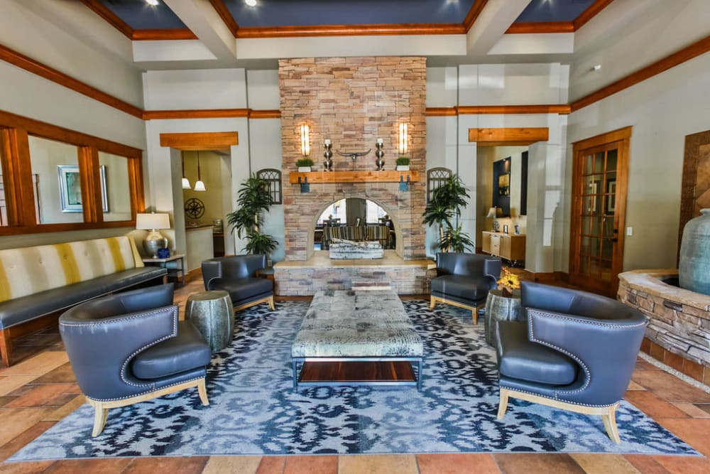 Resident clubhouse at Stone Creek at The Woodlands in The Woodlands, Texas