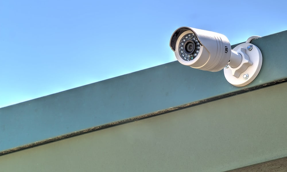 Surveillance camera at Prime Storage in Marietta, Georgia