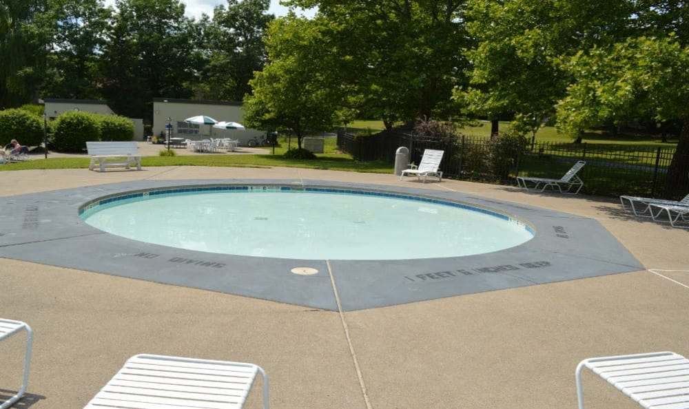Riverton Knolls swimming pool in West Henrietta