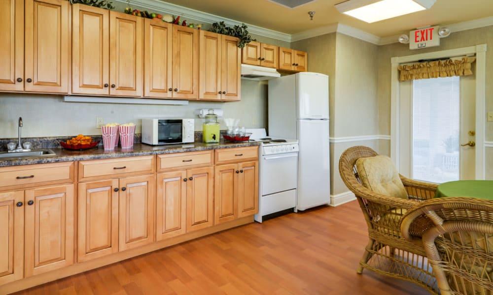 Kitchen at The Arbors at WestRidge Place in Sikeston, Missouri