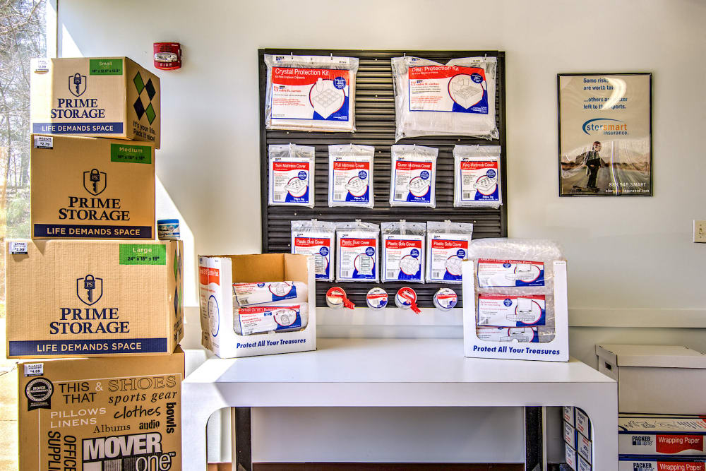 Get your packing supplies at Williamsburg Storage in Williamsburg, VA