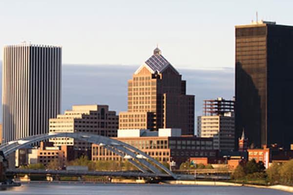 Stunning views of Rochester, New York near 933 the U