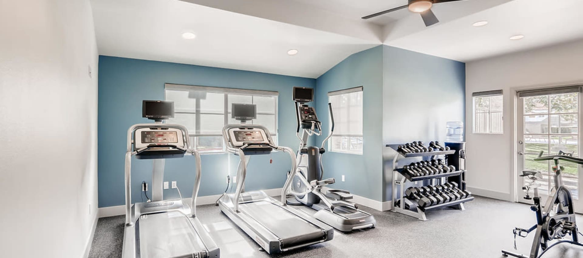 Gym at Hidden Hills Condominium Rentals in Laguna Niguel, California