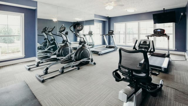 Fitness Center at Peppertree in Montgomery, Alabama