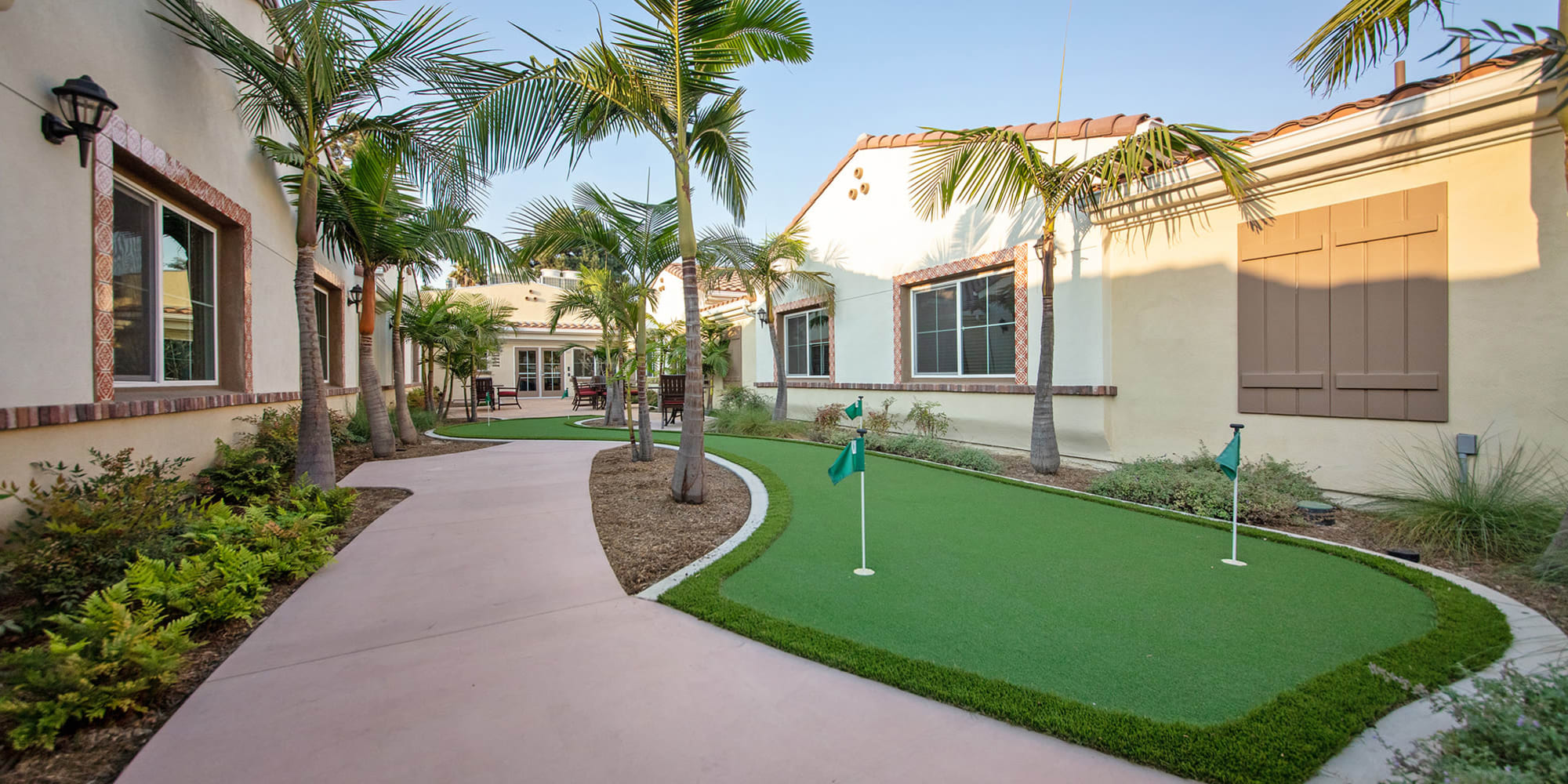 Golf and common area at Regency Palms Oxnard