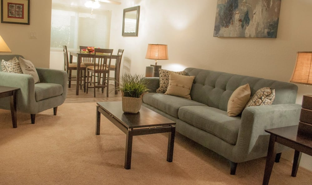 Large spacious living room in Studio City, CA