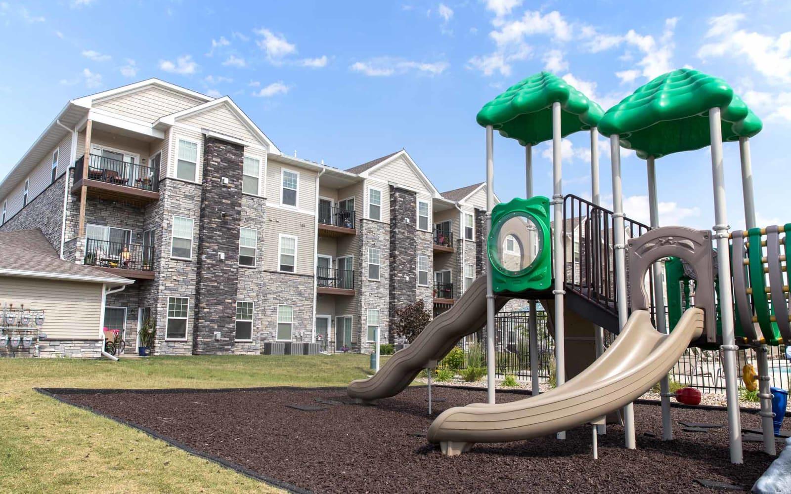 Children's playground at Ironwood in Altoona, Iowa