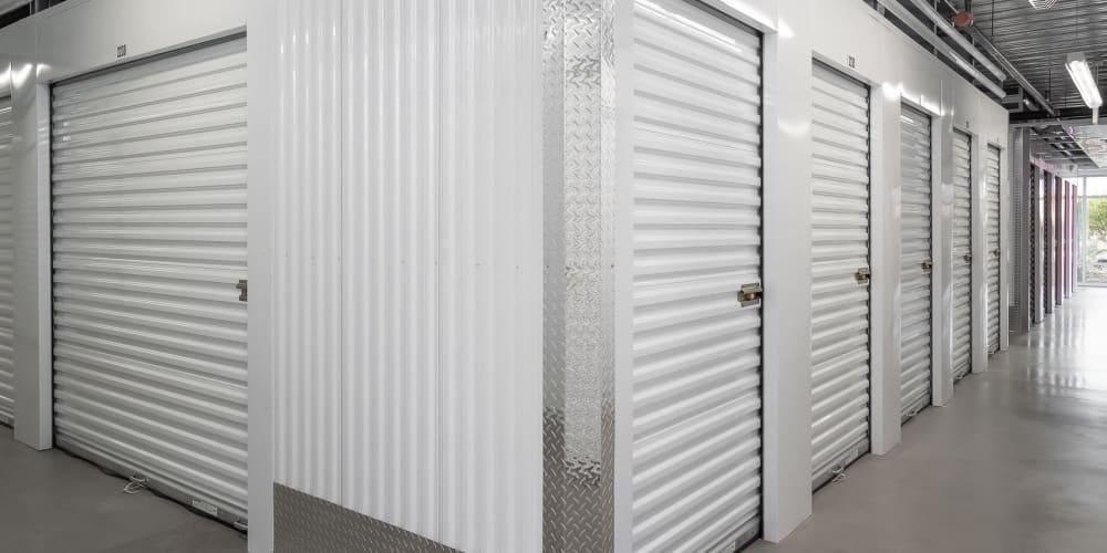 Indoor storage units at StorQuest Self Storage in Honolulu, Hawaii