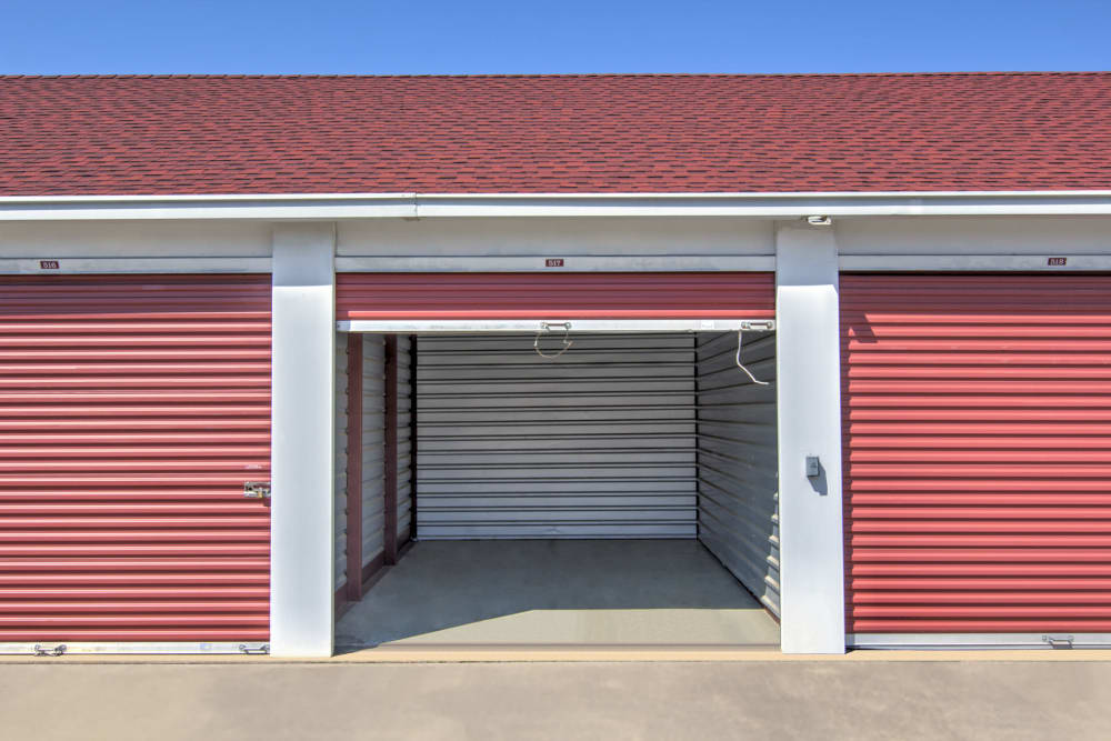 Outdoor storage unit at Prime Storage in Midlothian, Virginia