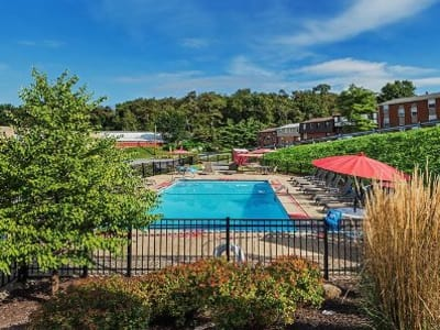 Swimming pool at Park Place of South Park in South Park