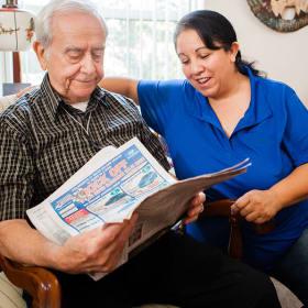 Home care services at Someren Glen
