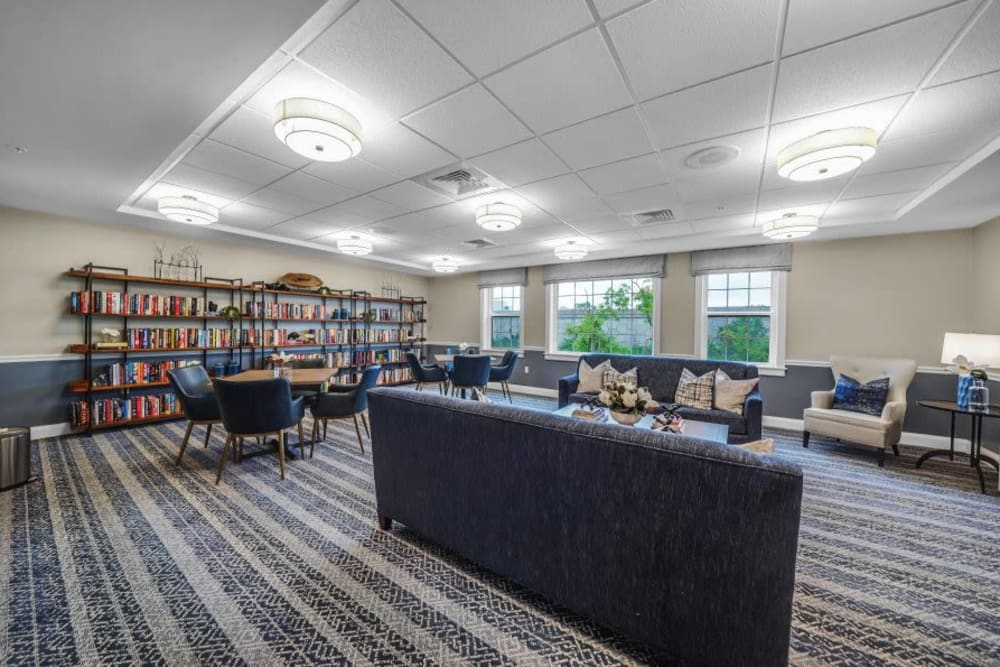 Library and study at Mercer Hill at Doylestown in Doylestown, Pennsylvania