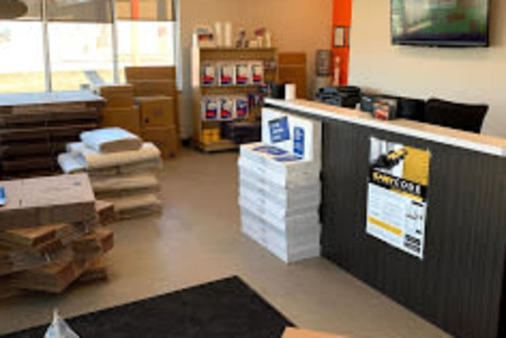 Main office at Apple Self Storage - Thunder Bay - Intercity in Thunder Bay, Ontario