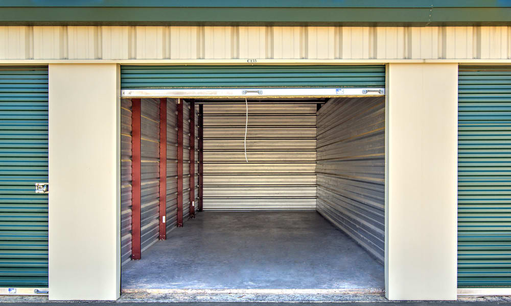 Interior of unit at Prime Storage in Marietta, Georgia