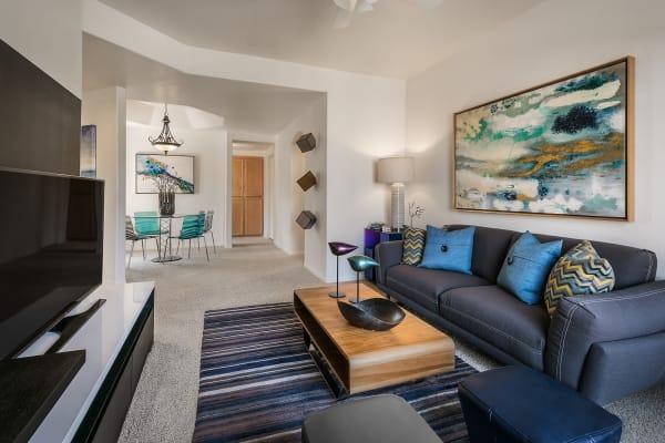 Living room at San Lagos in Glendale, Arizona