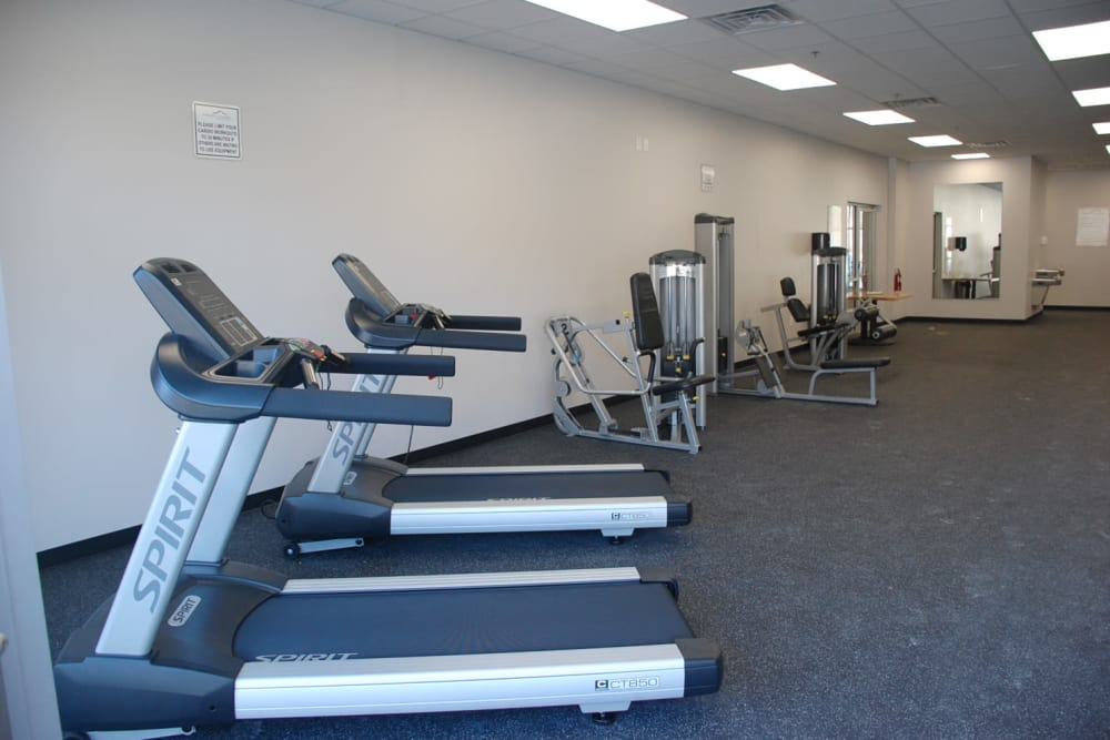 Fitness Center at Apartments in Pikeville, Kentucky