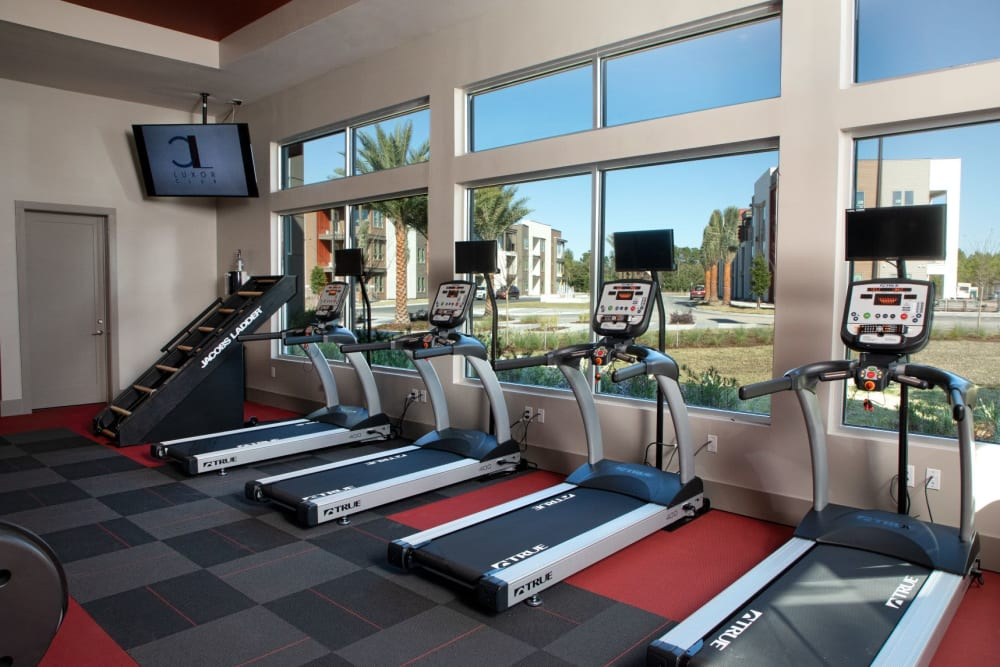 Fitness Center at Luxor Club in Jacksonville, Florida