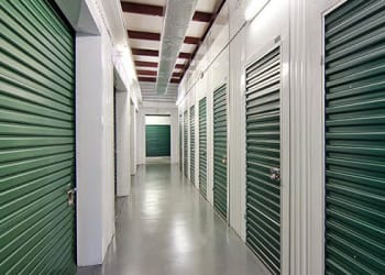 Climate-controlled storage units at Metro Self Storage in Austell, Georgia